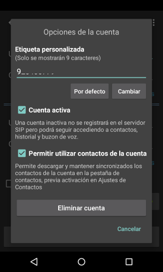 android voip