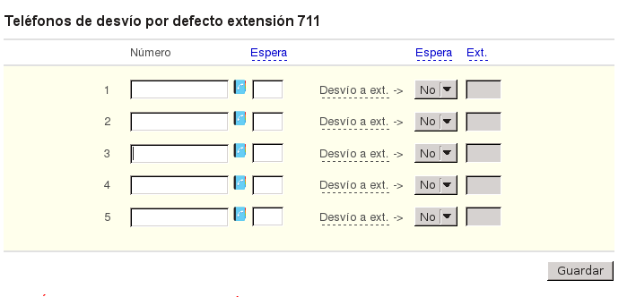 extensiones telefonicas