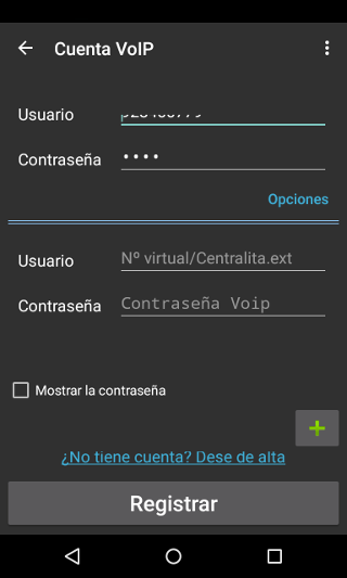 llamadas voip android