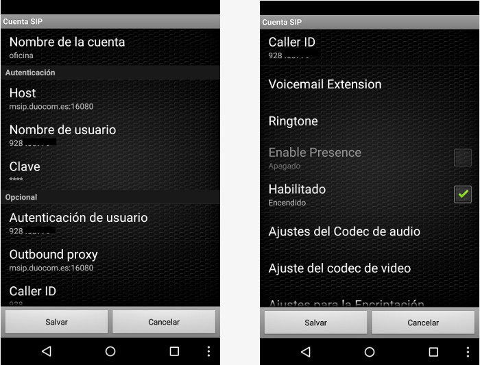 Zoiper - Softphone VoIP Telefacil